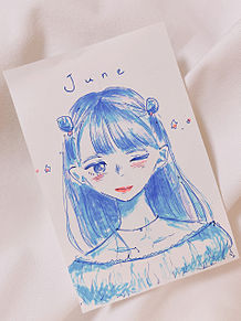 6月の女の子の画像(6月に関連した画像)