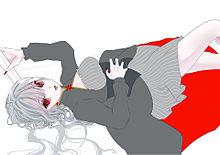 描き途中の画像(#吸血鬼に関連した画像)