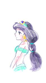 アラジン イラスト ジャスミン ディズニー プリンセスの画像40点完全