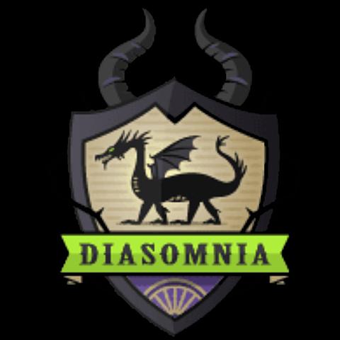 ロゴ:ディアソムニアの画像(プリ画像)