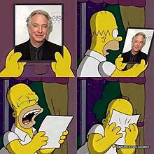 The Simpsons × Alan Rickmanの画像(アラン リックマンに関連した画像)