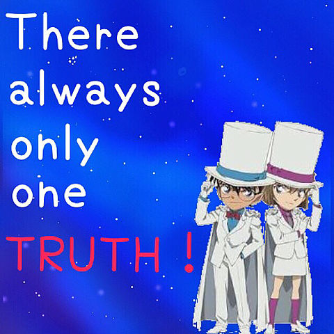 There always only one TRUTH!の画像(プリ画像)