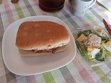 昼ごはんスタバ ローストビーフフォカッチャサーモンサラダの画像(ローストビーフに関連した画像)