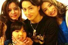 実母❌りゅう君❌亜嵐❌ラブリ 白濱ママと3姉弟👇の画像(モデル ラブリに関連した画像)