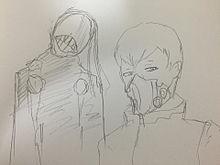 Two strange menの画像(アオギリに関連した画像)
