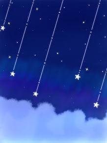 星が降る夜の画像(星空に関連した画像)