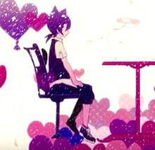 ラブチーノ♥ペア画の画像(プリ画像)