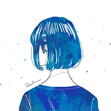 女の子イラスト可愛いかわいいおしゃれ加工素材背景壁紙アイコンの画像(プリ画像)