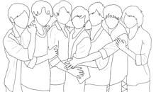 7MEN侍 線画の画像(本高克樹に関連した画像)
