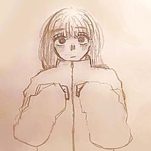萌え袖女の子の画像(#オリキャラに関連した画像)