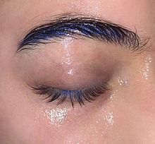 目の画像(アイシャドウに関連した画像)