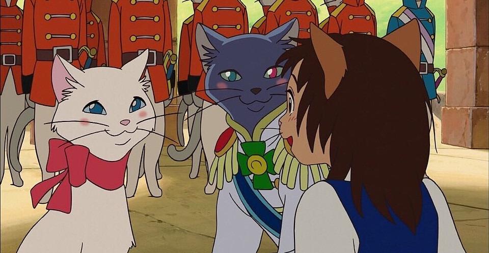 猫の恩返し ルーン王子とユキの結婚