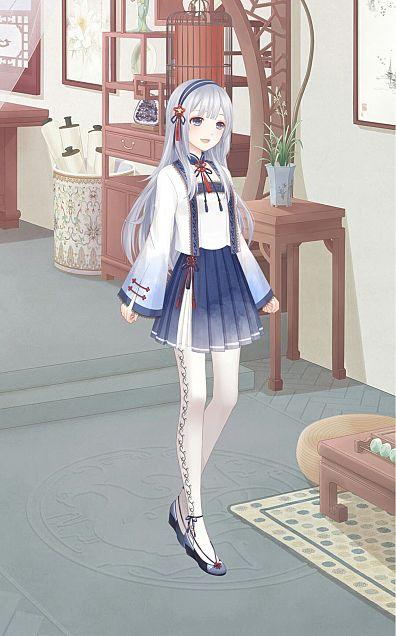 青墨花の画像(プリ画像)