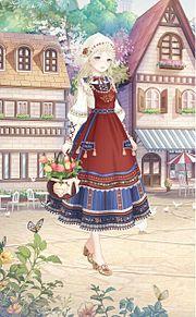 花くらべの画像(民族衣装に関連した画像)