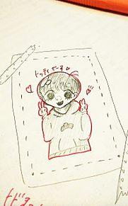 自分絵 トド松の画像(トド松に関連した画像)