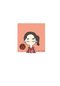 女子バスケ部 プリ画像