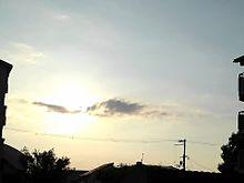 夕空。の画像(太陽に関連した画像)