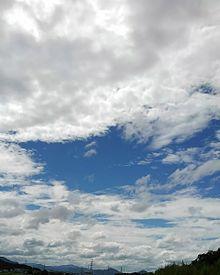 空の画像(暑いに関連した画像)