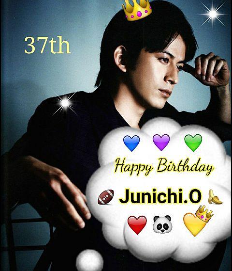 Happy Birthday      Junichi.O💛の画像(プリ画像)
