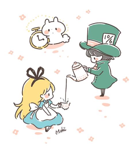 アリスの旅の画像(プリ画像)