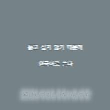 ※聞かれたくないから韓国語で書く プリ画像