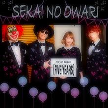 メジャーデビュー SEKAI NO OWARIの画像(プリ画像)