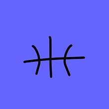 バスケットボールアイコンペア画の画像(バスケットボールに関連した画像)