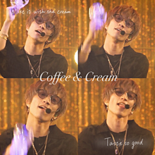 Coffee & Cream プリ画像
