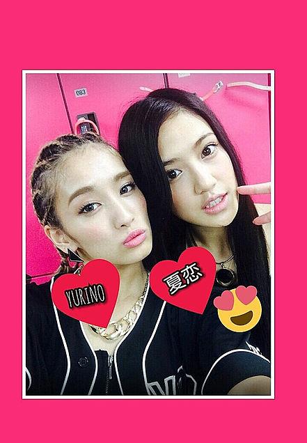 前の携帯の加工した写真! YURINOちゃん&夏恋ちゃんの画像 プリ画像
