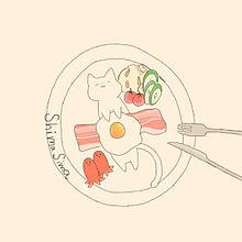 朝ごはんの画像(タコさんに関連した画像)