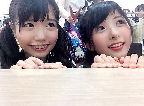 渕上舞 岡田栞奈   HKT48の画像(プリ画像)