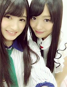 神志那結衣 HKT48   北原里英 NGT48