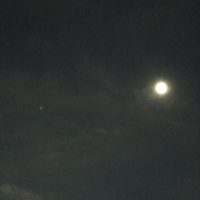 夜の空 いいね押してねっ❤︎ プリ画像