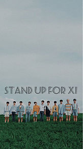 stand up for x1の画像(STANDに関連した画像)