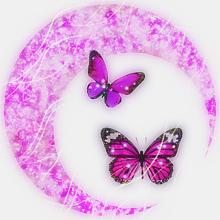 月加工画🌸🍒の画像(蝶々に関連した画像)