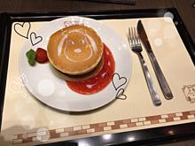 スヌーピーパンケーキ🥞💓の画像(パンケーキに関連した画像)