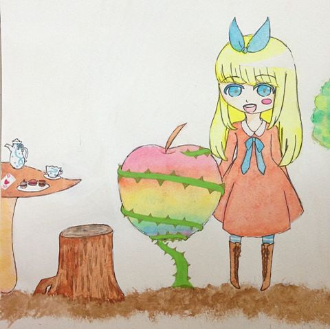 昨日の林檎がっっ‼の画像(プリ画像)