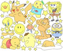黄色のキャラクター描きました!の画像(ピカチュウ  手書きに関連した画像)