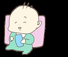 ゆるかわ赤ちゃんの画像(プリ画像)