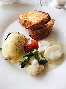 2016/12/25朝食 インターコンチネンタルの画像(エッグベネディクトに関連した画像)