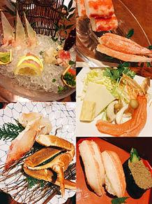 2016/5/30ディナー カニ道楽の画像(お刺身に関連した画像)