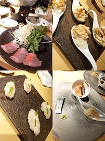2016/2/11ディナー(東京・西麻布)の画像(お刺身に関連した画像)