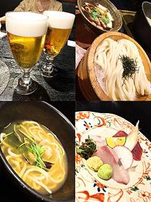 2016/2/9ディナー つるとんたんの画像(お刺身に関連した画像)