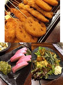 2015/12/6ディナーの画像(串焼きに関連した画像)