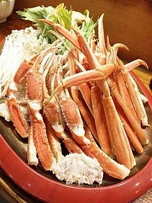 2015/6/28ディナー かにや(福岡・中洲)の画像(蟹に関連した画像)