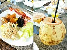 2015/6/24朝食(インドネシア・バリ・アヤナ)の画像(ビュッフェに関連した画像)