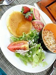 2015/6/21朝食(インドネシア・バリ)の画像(ビュッフェに関連した画像)