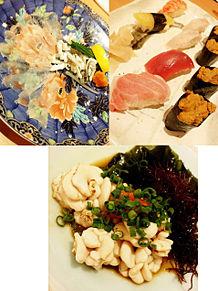 2015/2/19ディナー ひょうたん寿司(福岡)の画像(お魚に関連した画像)