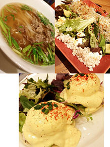 2015/1/23ディナー(東京・渋谷ヒカリエ)の画像(エッグベネディクトに関連した画像)