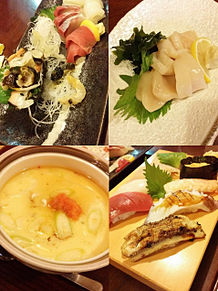 2015/1/14ディナー(福岡)の画像(お魚に関連した画像)